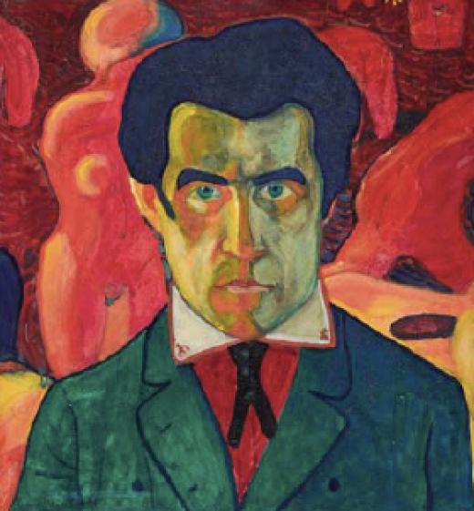 Kazimir Malevich, Self Portrait, 1908-1910 (State Tretyakov Gallery, Moscow)