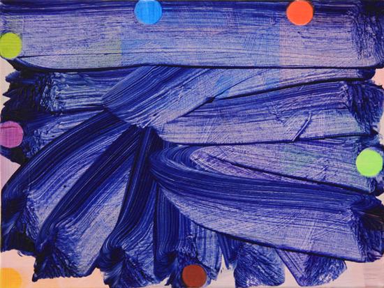 Mali Morris, Surface Later (2), 2010, 20 x 30 cm, Acrylic on canvas