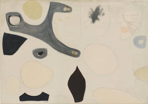 Agnes Martin, Untitled, mid-1950s (Agnes Martin, Artists Rights Society / Pace G