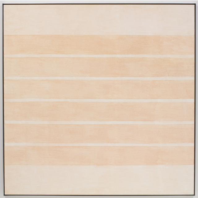 Agnes Martin, 3/17 - Untitled #10, 2002, acrylic and graphite on canvas, 60 x 60