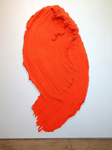 Donald Martiny, Burnt Hills, 2012, 81 x 42.5 inches, polymers and dispersed pigm