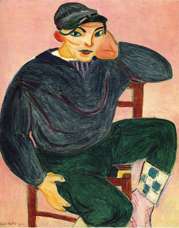 Henri Matisse, Young Sailor II, 1906 © 2012 Succession H. Matisse / Artists Righ
