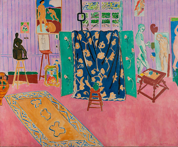 Henri Matisse, The Pink Studio, 1911 (The Pushkin State Museum of Fine Arts, Moscow, © Succession H. Matisse. Photo © Moscow, The Pushkin State Museum of Fine Arts, 2016)