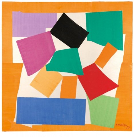 Henri Matisse, The Snail, 1953, Tate Gallery (© Succession H. Matisse / DACS 201