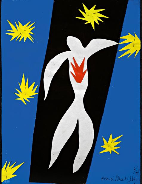 Henri Matisse, The Fall of Icarus, 1947 (Henri Matisse/DACS 2014)