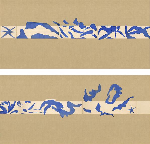 Henri Matisse, The Swimming Pool (La Piscine) (late summer 1952), maquette for c