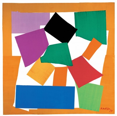 Henri Matisse, The Snail, 1953, Gouache on paper, cut and pasted on paper mounte
