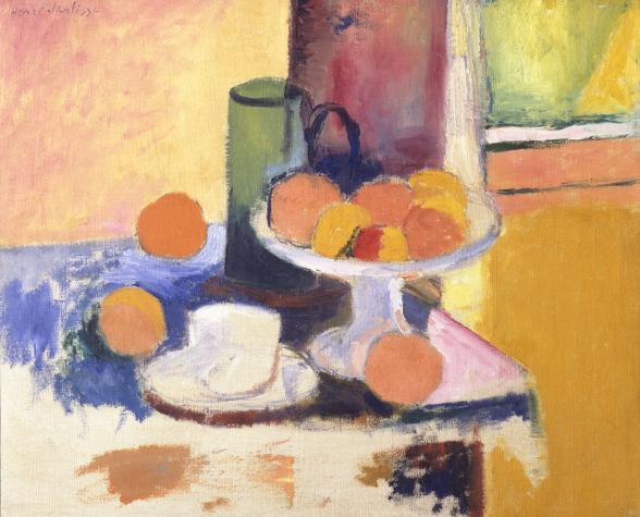 Henri Matisse, Nature morte aux oranges (II), c. 1899 (Mildred Lane Kemper Art M