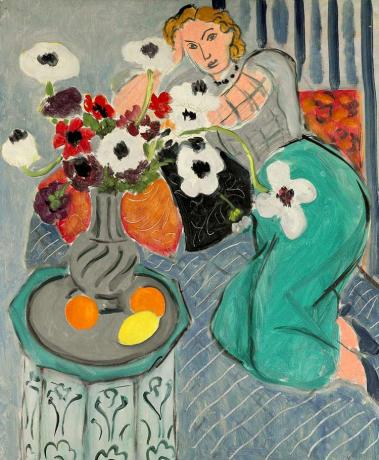 Henri Matisse, L'Odalisque, Harmonie Bleue, 1937