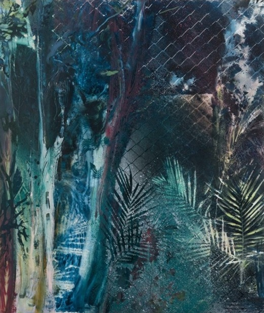 Tom McGrath, Untitled, oil on canvas over panel, 60 × 72 inches, 2012 (courtesy