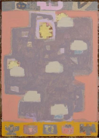 Ryan McLaughlin, Wetter, 2013 oil on linen on MDF, framed 35 1/2 x 25 3/4 inches