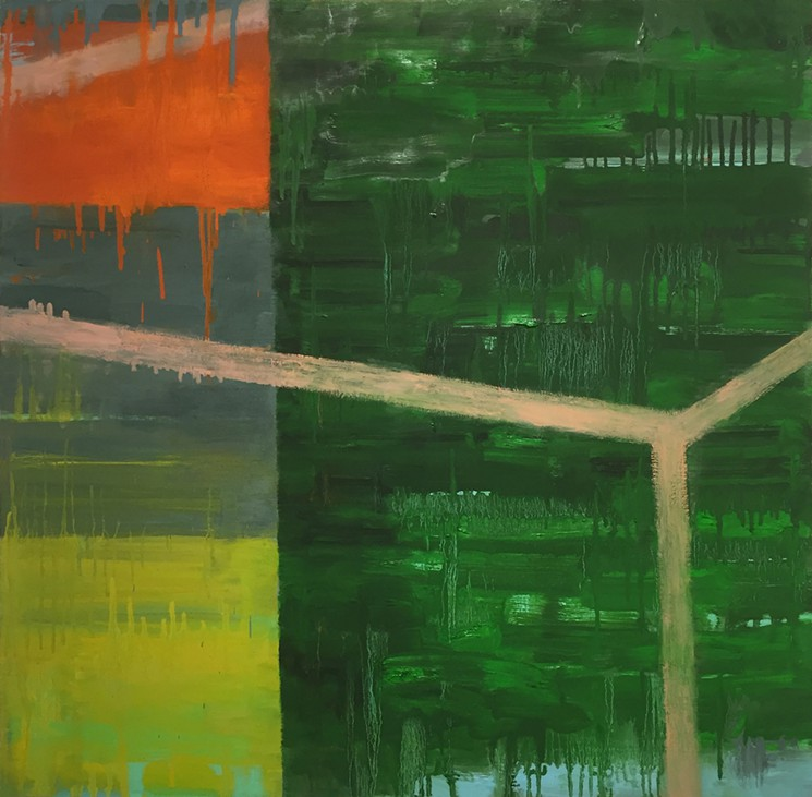 Joan Mellon, Flyin' High (courtesy of Carter Burden Gallery)