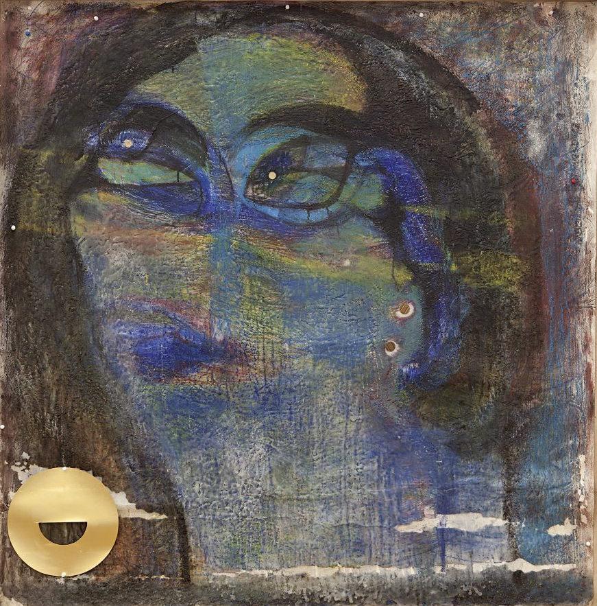 Marisa Merz, Untitled, 1984 (Private collection, photo: Andrea Rossetti, courtesy Galleria Monica de Cardenas)
