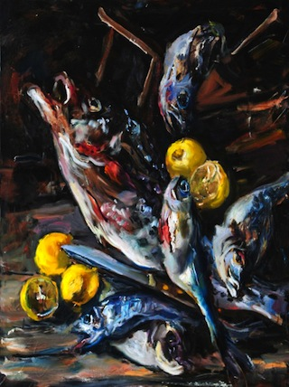 Raoul Middleman, Fish Motley, 2004 (courtesy of the artist)
