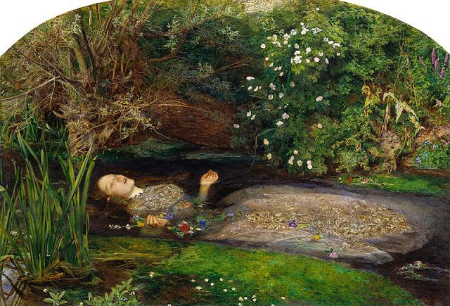 John Everett Millais, 1851–1852, oil on canvas, 76.2 cm × 111.8 cm, 30 × 44 inch