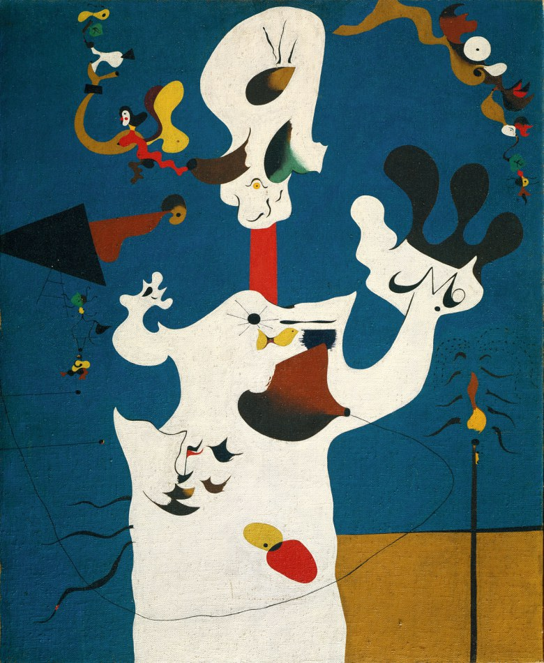 Joan Miró, Potato, 1928, oil on canvas, 39 3/4 x 32 1/8 inches (The Metropolitan Museum of Art)