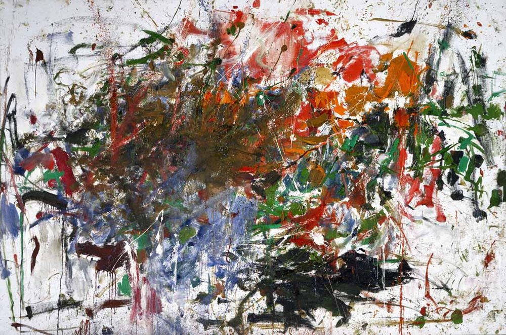 Joan Mitchell, Cous-cous, 1961-62, oil on canvas, 78 3/4 x 119 3/4 inches (court