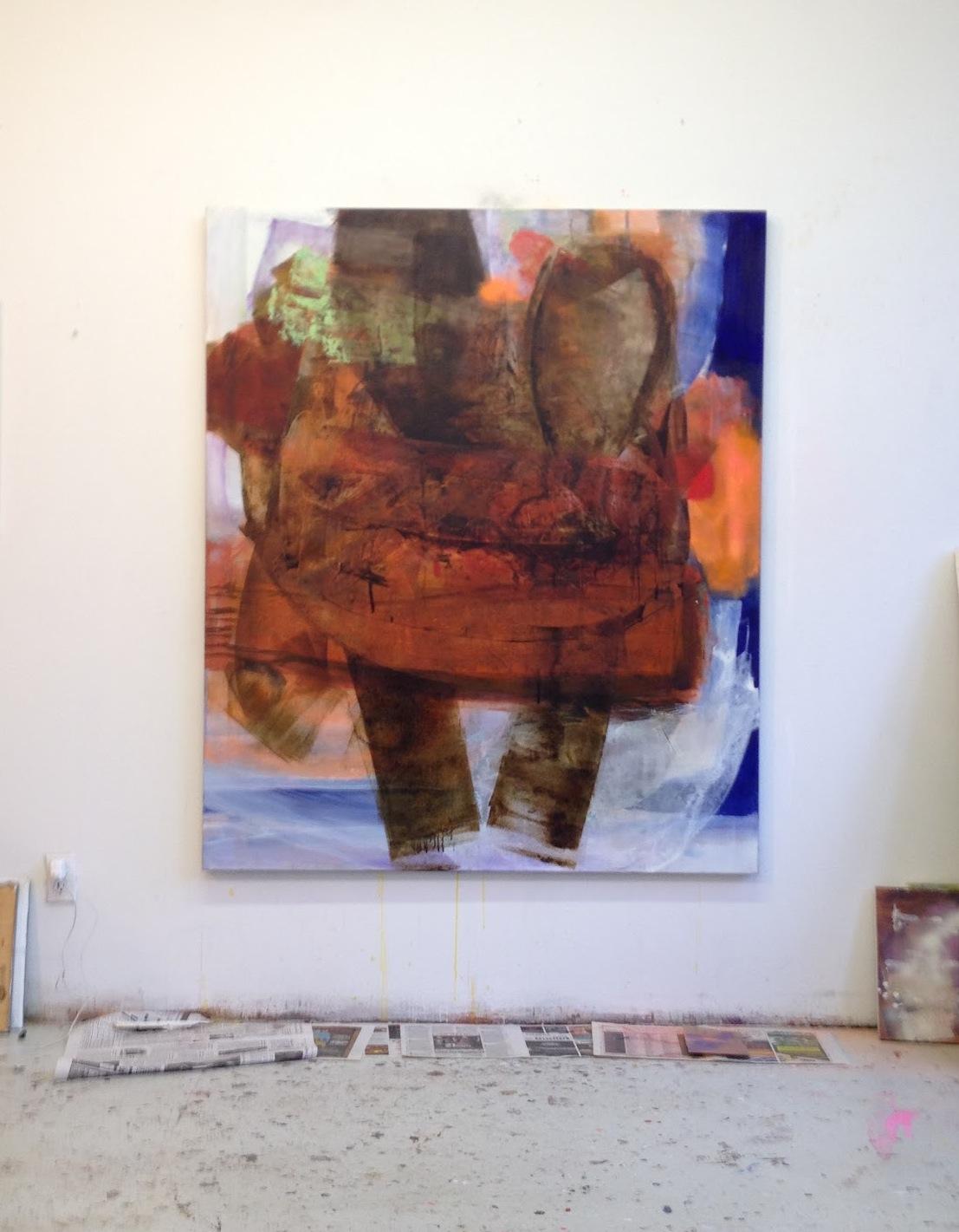 Mary Jones, Studio view (photo Max Estenger)