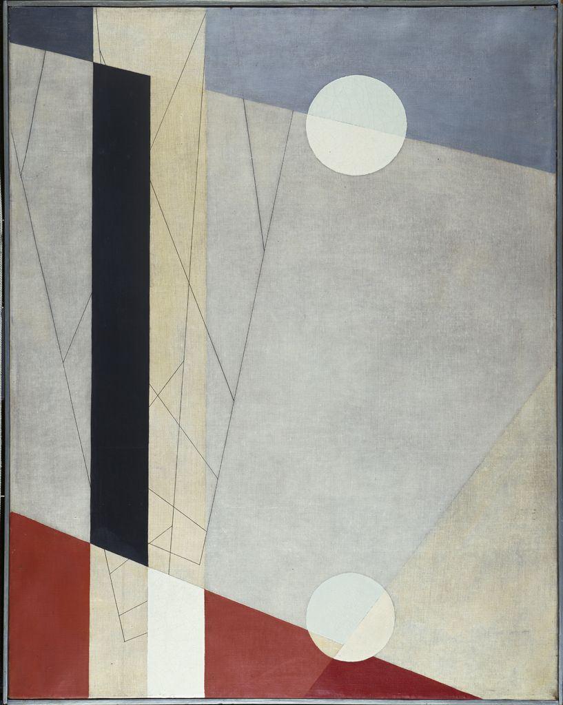 László Moholy-Nagy, Z vi, 1925, oil on canvas, Harvard Art Museums/Busch-Reisin