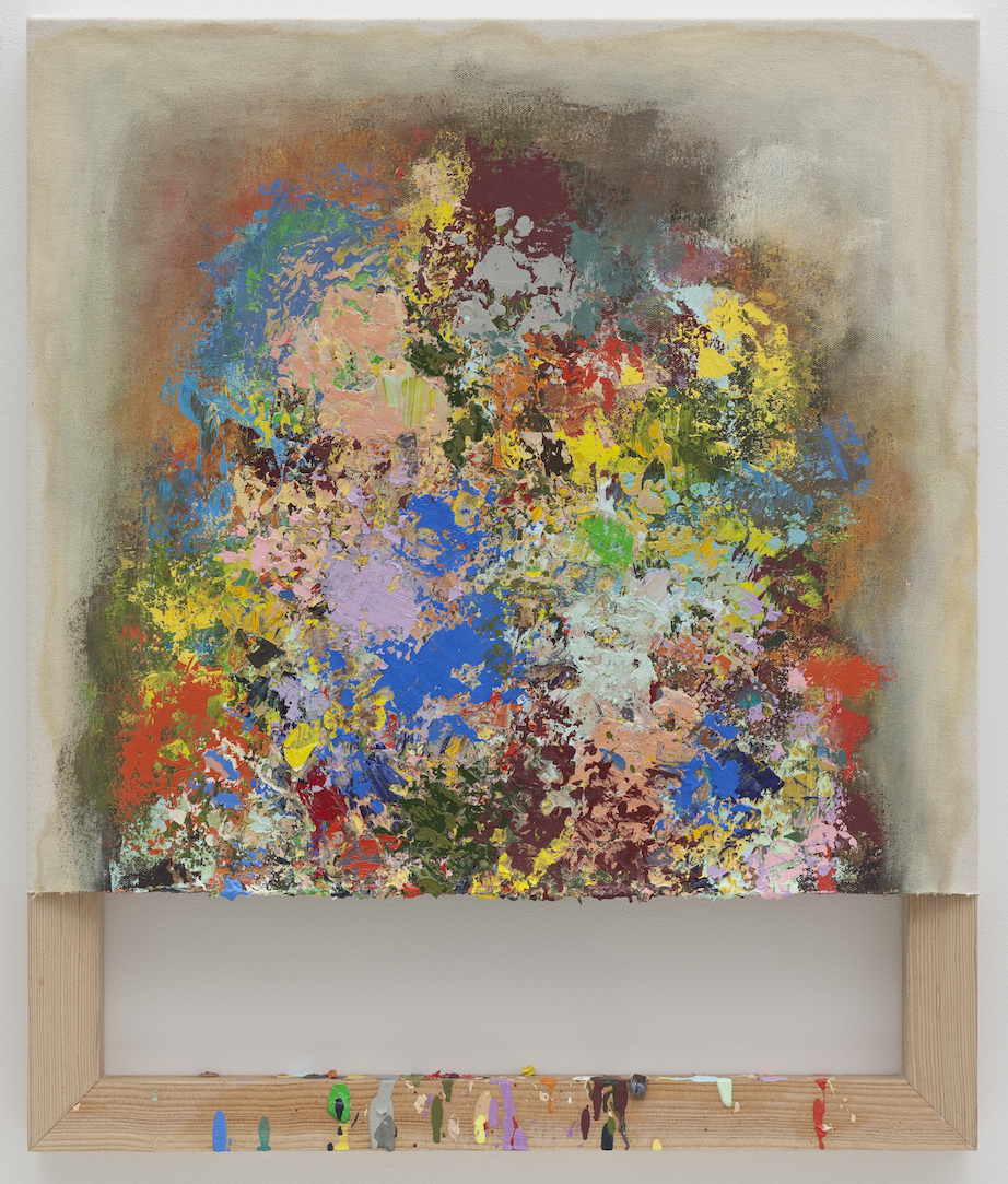 Dianna Molzan, Untitled, 2009, oil on canvas on fir, 24 × 20 inches (Collection