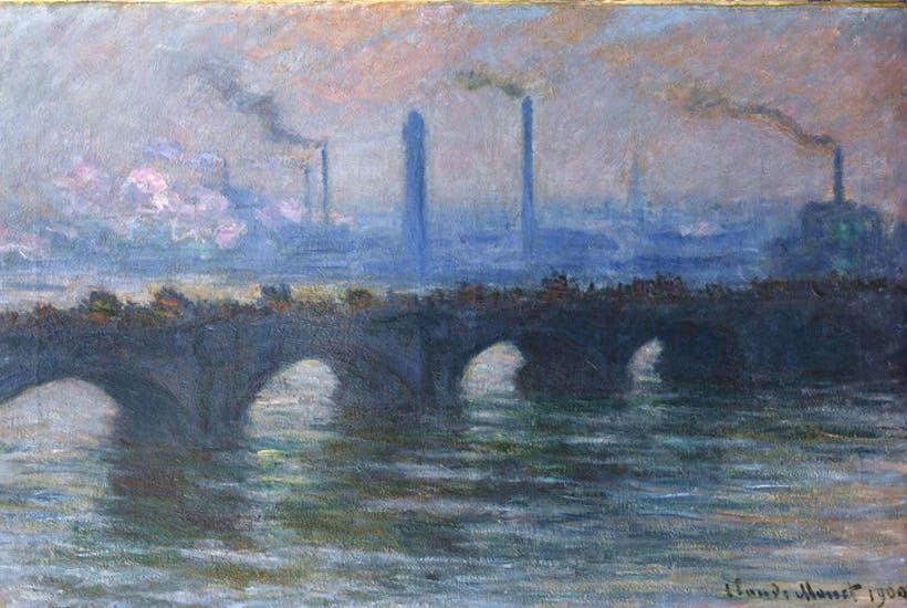 Claude Monet, Waterloo Bridge, Overcast Weather, 1899-1903
