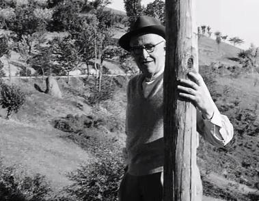 """Giorgio Morandi, Film still from """"La polvere di Morandi"""" directed by Mario Cheme"""