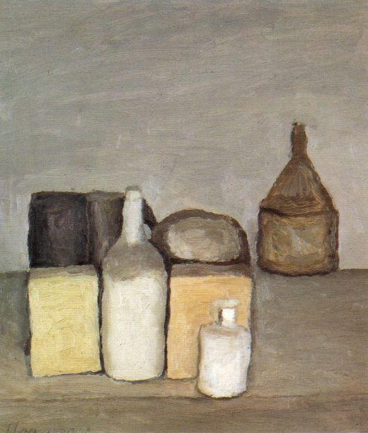 Giorgio Morandi, Natura Morta (Still Life), 1956, oil on canvas