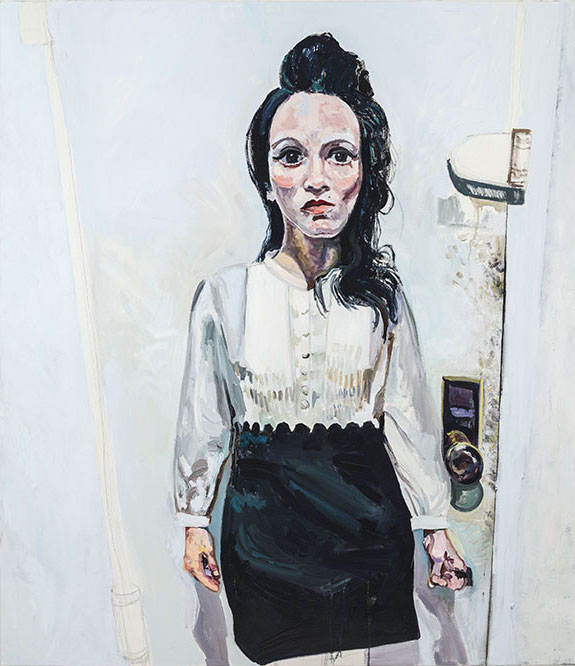Heather Morgan, Behind the Door, 2017, oil on canvas (courtesy of the artist)