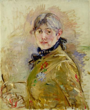 Berthe Morisot, Self-portrait, 1885 © Musée Marmottan Monet, Paris / Bridgeman A