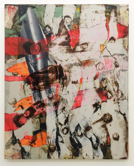 Ed Moses, Kucha, 1991, oil, acrylic on canvas, 75 x 60 inches (photo: Steven Alexander)
