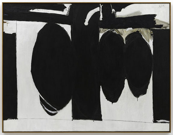 Robert Motherwell, Elegy to the Spanish Republic, No. 57, 1957-1961 (SFMoMA, © D