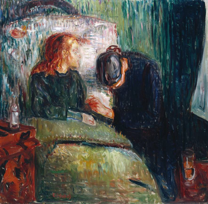 Edvard Munch, The Sick Child, 1907, Oil paint on canvas (© Munch Museum/Munch-El