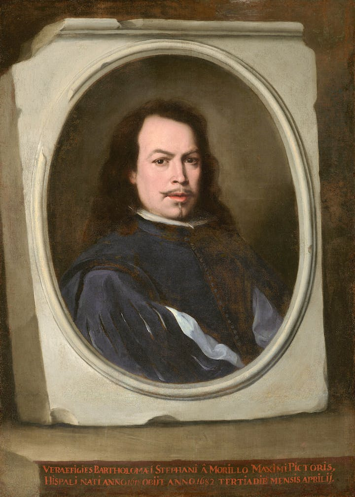 Bartolomé Esteban Murillo, Self-Portrait, c. 1650–55 (© The Frick Collection)