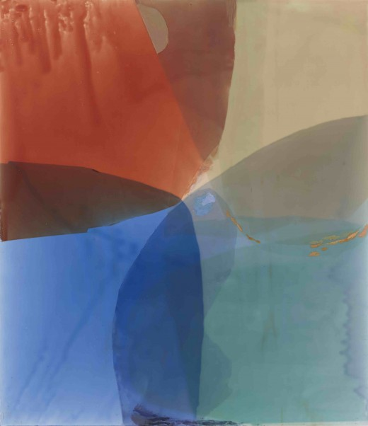 Jill Nathanson, Fluid Measure, 2015, 55 x 47 inches, acrylic, polymers and oil on panel (courtesy of the artist)