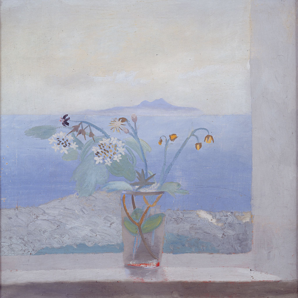 Winifred Nicholson, The Isle of Man from St Bees, c. 1945 (© The Trustees of the Estate of Winifred Nicholson)