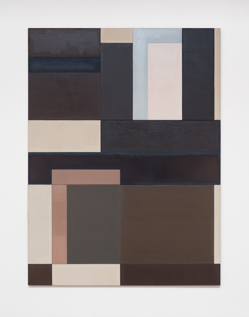 David Novros, Untitled, 1970-71, oil on canvas, 120 x 90 x 1 1/4 inches (courtesy of Paula Cooper Gallery)