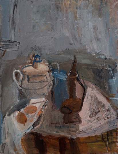 Janice Nowinski, Turkish Pot, 24 x 18 inches, oil on linen, 2013 (courtesy of th