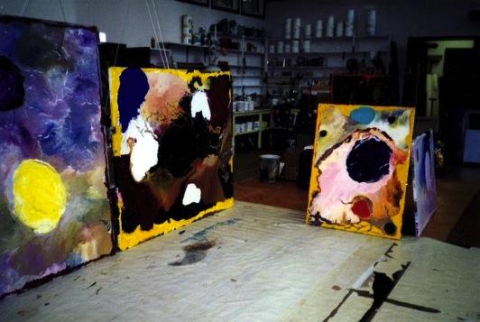 Studio of Jules Olitski, Screen capture, Jules Olitski: Modern Master, Museum of