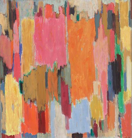 John Opper, Untitled (210J), 1988, acrylic on canvas, 70 x 66 inches (courtesy o