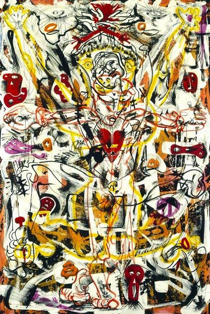 Alfonso Ossorio, Perpetual Sacrifice, 1949 (National Gallery of Art, Washington,