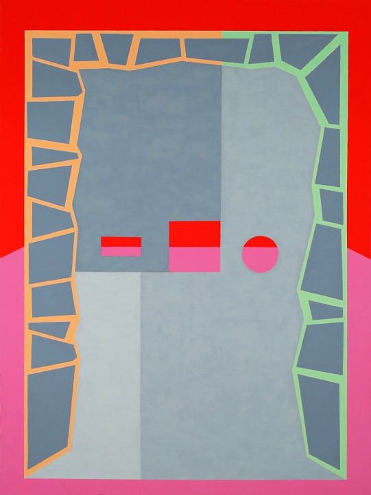 Michael Ottersen, Mary Krishna, 2012, oil and acrylic on canvas, 64 x 48 inches