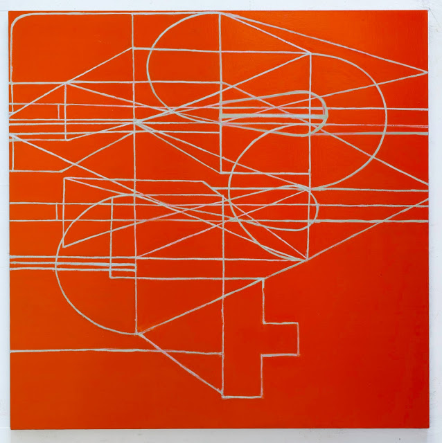 Paul Pagk, 2015, 70 x 70 inches, oil on linen (photo: Steven Alexander, courtesy