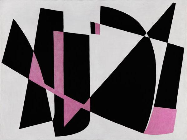 Lygia Pape, Pintura (Painting), 1953, oil on canvas (photo: Paula Pape.© Projeto Lygia Pape)