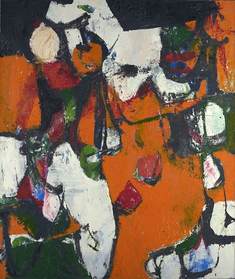 Charlotte Park, Jubilee, c. 1955, oil on canvas, 68 x 58 inches (courtesy of Ber