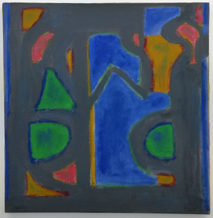 Betty Parsons, Forms 1, 1978, oil on canvas, 72 x 70.5 cm (photo: Andy Parkinson)
