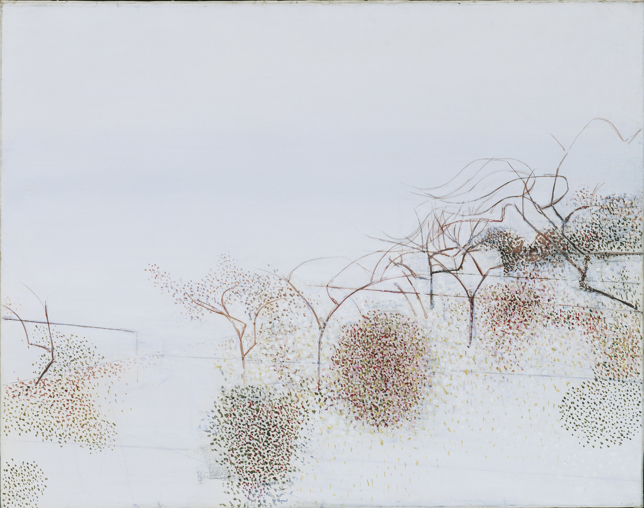 Victor Pasmore, The Gardens of Hammersmith No.2, c.1949, oil on canvas (©Tate London)
