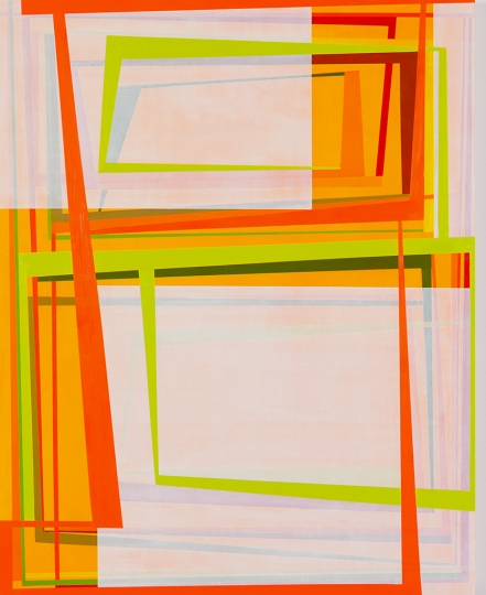 Gary Petersen, Summer Cool Aid, 2012, acrylic and oil on wood panel, 30 x 24 inc
