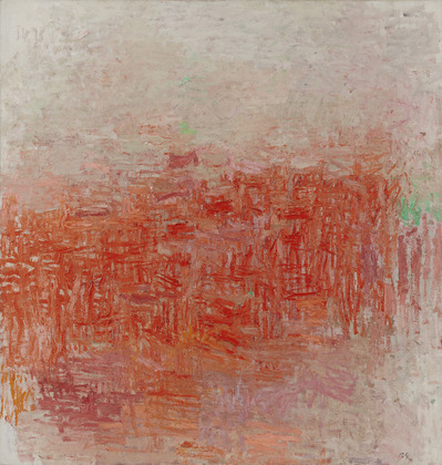 Philip Guston, Painting, 1956, collection of the Museum of Modern Art, New York