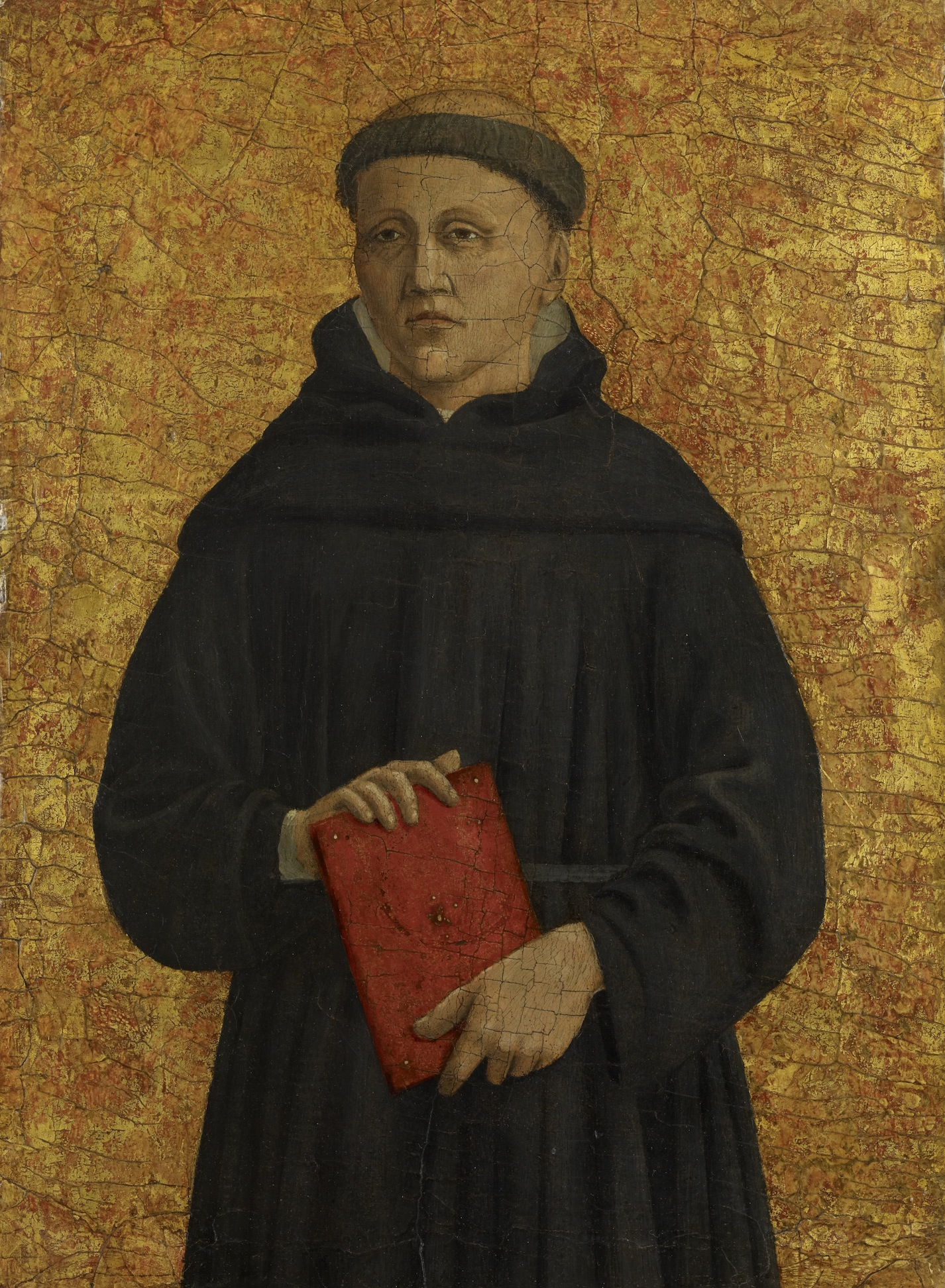 Piero della Francesca, Saint Leonard (?), 1454–69, oil and tempera with gold on