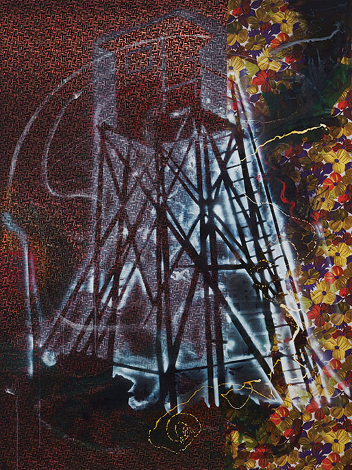 Sigmar Polke, Watchtower, 1984 (Estate of Sigmar Polke/Artists Rights Society (A